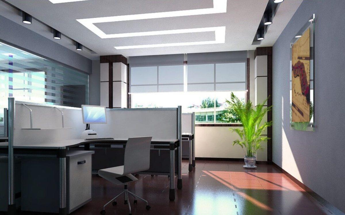 Office False Ceiling 3D