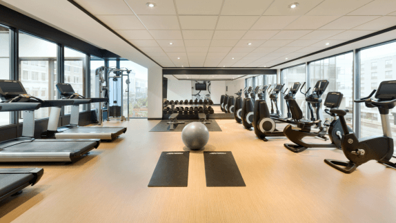 Gym creative interior & decor